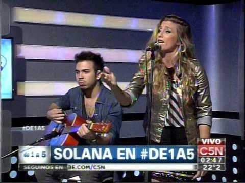 C5N   MUSICA EN VIVO SOLANA EN DE 1 A 5