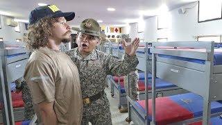 Intenté hacer un día de entrenamiento militar en Colombia