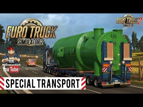 [ETS2 v1.30] Special Transport DLC for ETS 2 with escort Vehicles #1