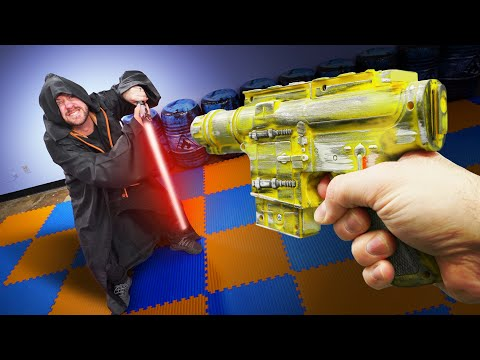 NERF Dungeons & Dragons   Star Wars Challenge!