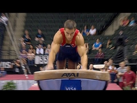 Jacob Dalton Wins Vault at Nationals - Universal Sports