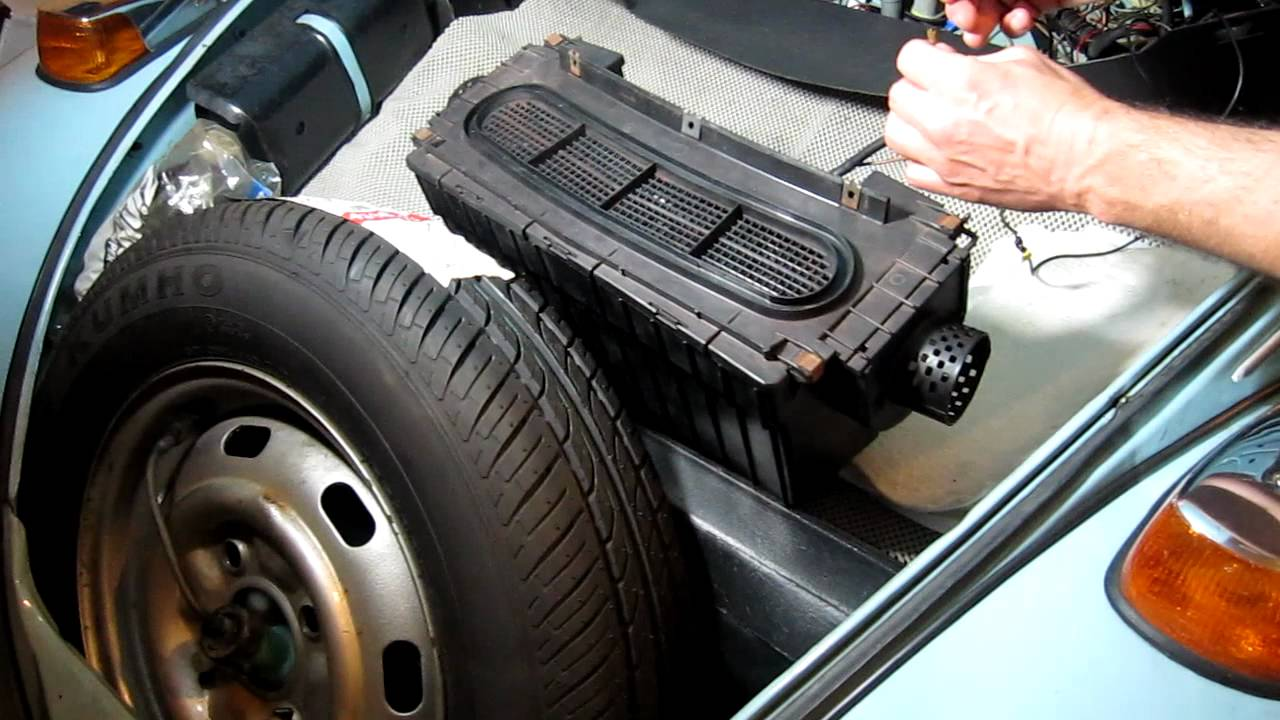 Vw Beetle Test >> Fresh Air Fan Box '71-'72 Super Beetle - YouTube