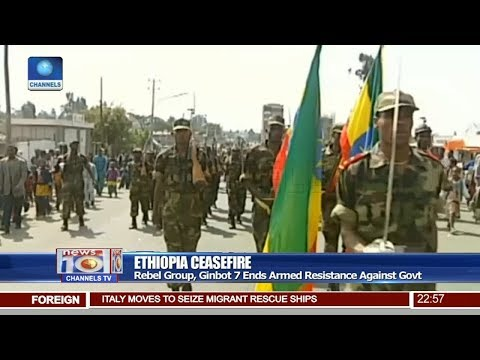 Ethiopia Rebel Group, Ginbot 7 Ends Armed Resistance Against Govt Pt.4 |News@10| 22/06/18 thumbnail
