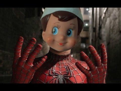 ELF ON THE SHELF IN THE MOVIES (TRY NOT TO SMILE or LAUGH)