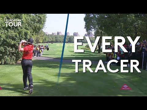 Every single Top Tracer from the WGC-HSBC Champions (Rory McIlroy, Tommy Fleetwood, Henrik Stenson)