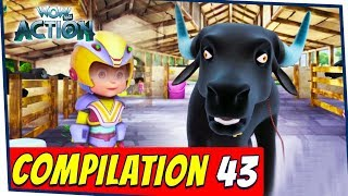 VIR: The Robot Boy Cartoon In Hindi | Compilation 43 | Hindi Cartoons for Kids | Wow Kidz Action