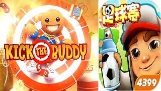 Kick The Buddy vs Subway Surfers Best Kid Games - Adventure Children Game Free Online