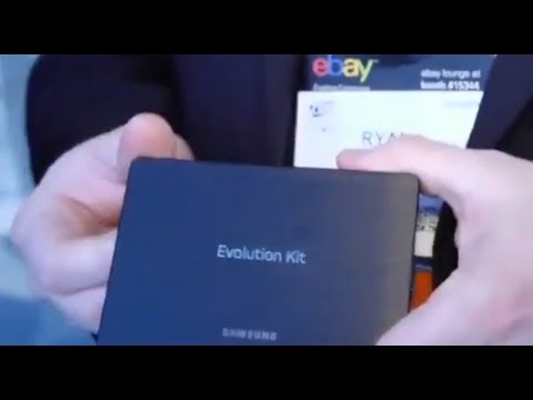 Samsung Evolution Kit Live Demo   TechCrunch At CES 2013