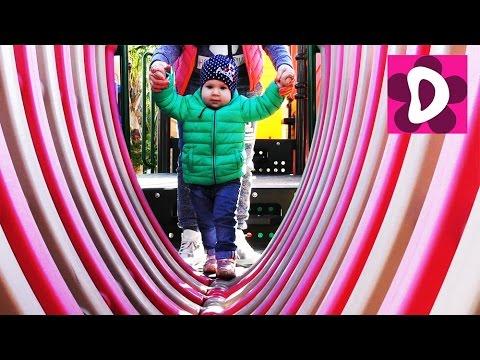 ✿ Играем на Детской Площадке Катаемся с Горок Playground Fun Play Place for Kids playroom