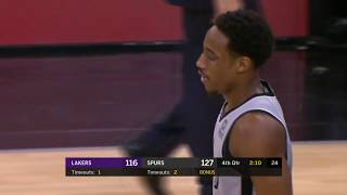 Los Angeles Lakers vs San Antonio Spurs | December 7, 2018