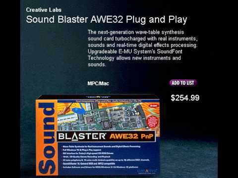 Sound Blaster Synthesized Music - Diagnostic music