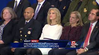 President Trump announces opioid action plan in New Hampshire