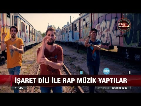 İşaret dili ile rap müzik yaptılar - 12 Ocak 2018