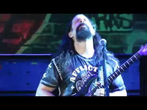 JOHN  PETRUCCI solo close-up LIVE DREAM THEATER - LE GRU VILLAGE ITALY 22/07/2014
