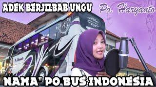 Parody Adek Berjilbab Ungu - Bujang Buntu    Versi Nama Bus Indonesia