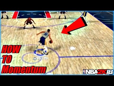 NBA 2K18 HOW TO  MOMENTUM CROSSOVER SPAM - THEY CHANGED IT DRIBBLE GODS  LIVE IN NBA 2K18