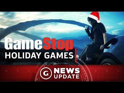 GameStop's Top 5 Must-Have Holiday 2016 Games - GS News Update