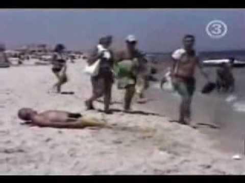 Videos graciosos en la playa