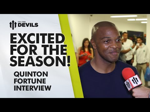 Excited For The Season! | Quinton Fortune Interview | Manchester United