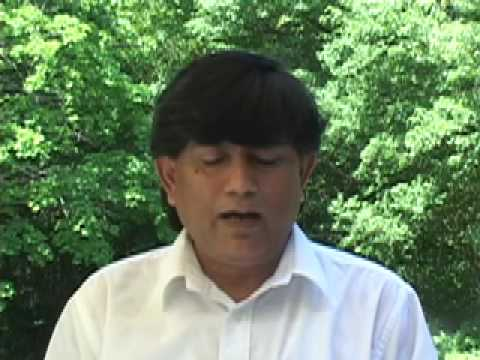 Yuyutsu RD Sharma, poet, reading at Long Island, part 1
