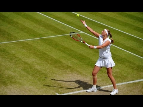 Petra Kvitova on fourth round win at Wimbledon 2013