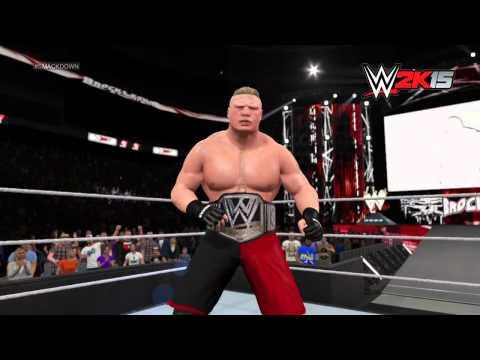 Brock Lesnar's WWE 2K15 Entrance