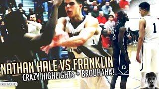 Nathan Hale Game Gets HEATED! Michael Porter EJECTED! FULL HIGHLIGHTS VS FRANKLIN (GONE VIOLENT)