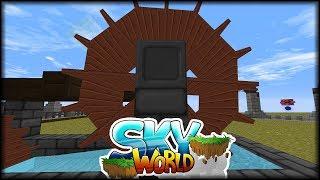 Die kennen wir doch, die Räder des Stroms | Minecraft SkyWorld #32 | Minecraft Modpack