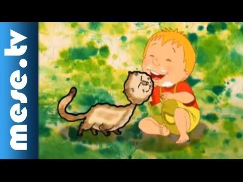 Halász Judit - Tíz Kicsi Cica (gyerekdal, Animáció)