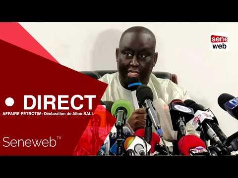AFFAIRE PETROTIM: Déclaration de Aliou SALL