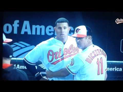 Manny Machado Rocks Yordano Ventura Orioles vs Royals Brawl LIVE  Full HD June 7 2016