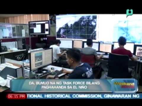 [The Weekend News] DA, bumuo na ng task force bilang paghahanda sa El Niño [05|10|14]