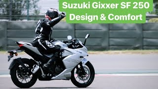 2019 Suzuki Gixxer SF 250 Design & Comfort Review (Hindi + English)