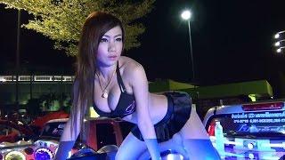 Chonburi Plaza Car Audio Show with Coyote Dancers Rewind