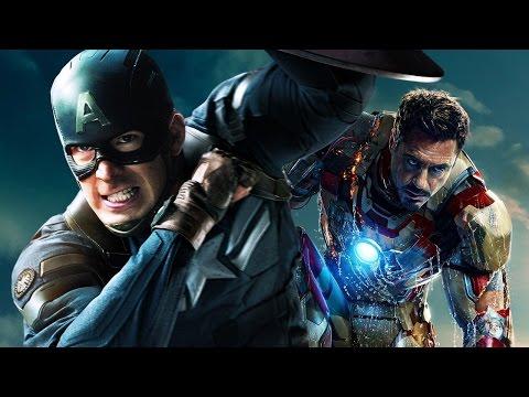 Marvel's Civil War: Robert Downey Jr. & Chris Evans on What Drives Cap and Iron Man Apart