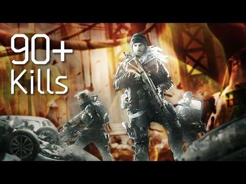 The Division | 90+ kill Manhunt Gameplay [Reclaimer Healer]