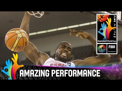 Serge Ibaka - Amazing Performance - 2014 FIBA Basketball World Cup