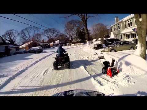 ATV Snow Fun