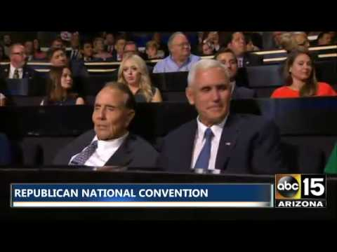 Republican National Convention: Governor Mike Pence & Bob Dole