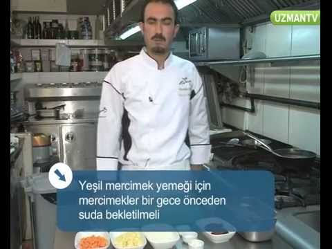 Yeşil Mercimek Yemeği Tarifi - YouTube