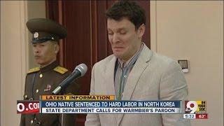 Ohio native sentenced to 15 years hard labor in North Korea