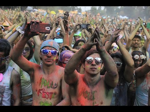 Holi Festival of Colours Ciudad de México 2014
