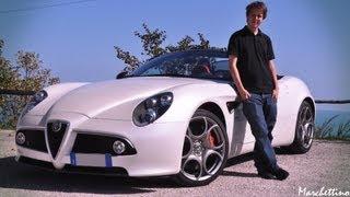 Marchettino: a day with the Alfa 8C Spider