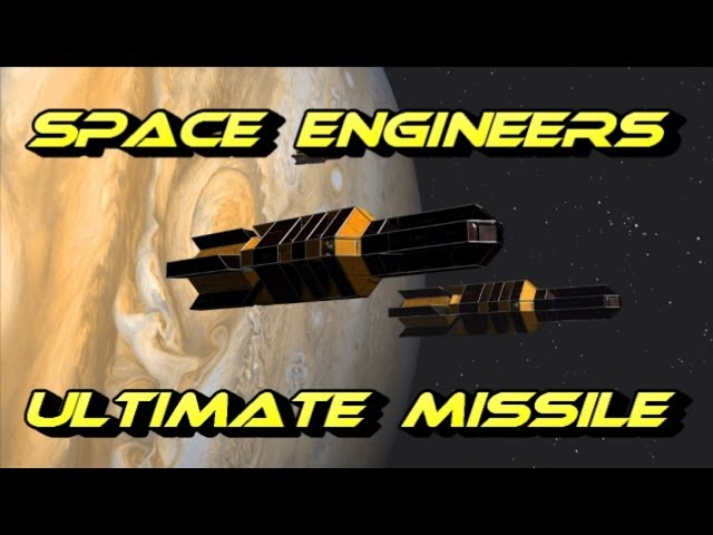 Space Engineers Ultimate Cruise Missile!