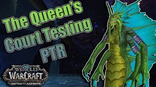 BFA - 8.2 PTR The Eternal Palace Raid Testing of The Queen's Court! An Aff Warlocks Dream!