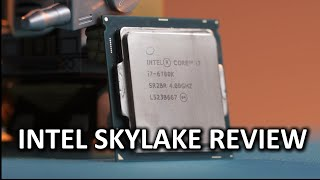 "Intel 6700K ""Skylake"" CPU"