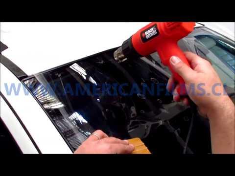 Como instalar lámina de seguridad en parabrisas