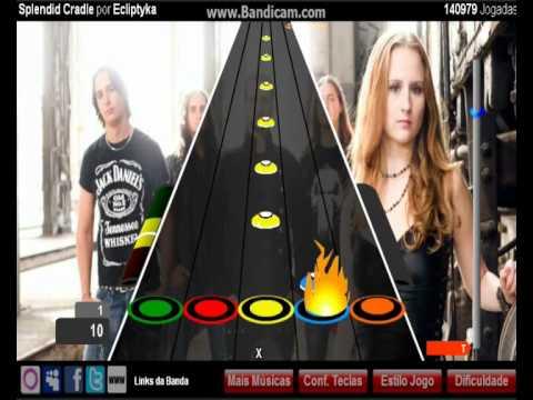 Como jugar el modo Tocar y Rasguear Facebook Guitar Flash