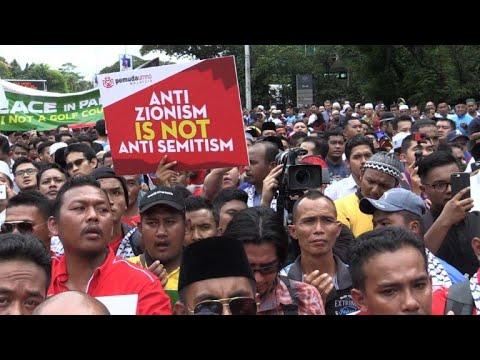 Malaysians protest against Trump Jerusalem move
