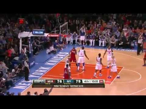 NBA CIRCLE - Miami Heat Vs New York Knicks Highlights 3 March 2013 www.nbacircle.com